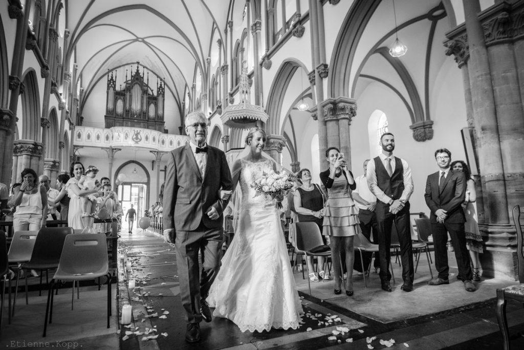 Père et fille mariage étienne kopp