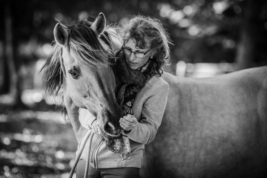 Belfort cheval femme photo