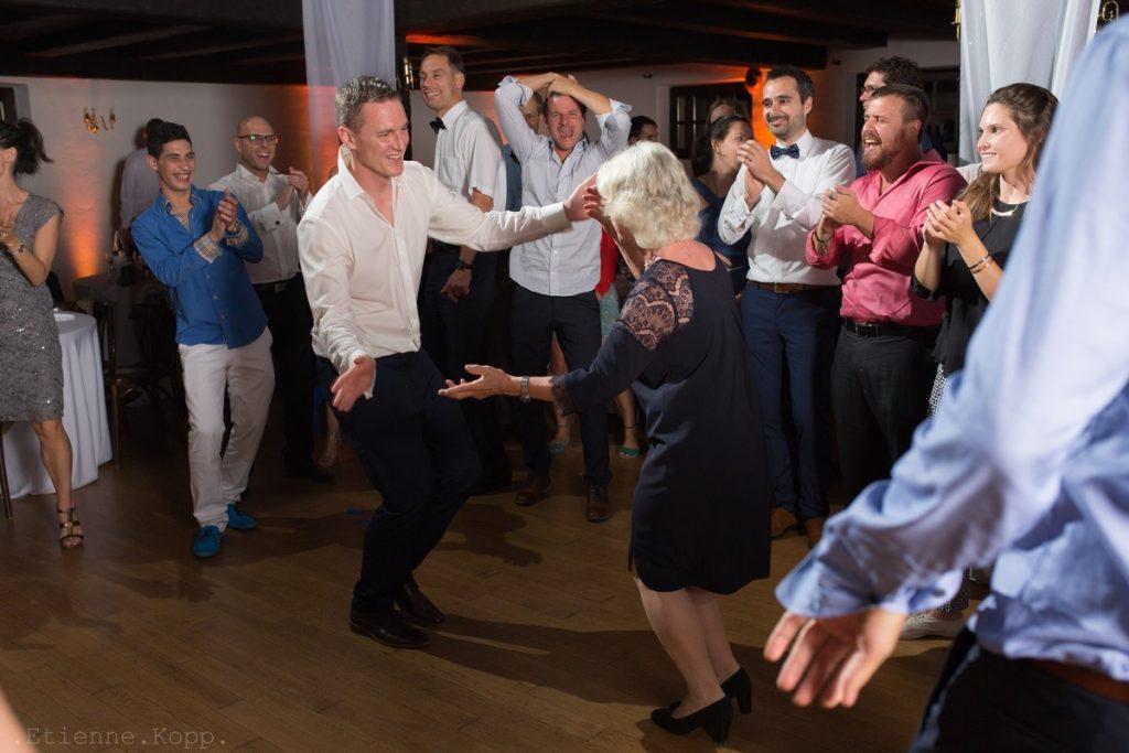 artiste etienne kopp danse mariage