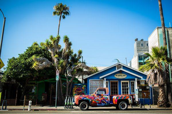 Los Angeles USA Etienne kopp truck