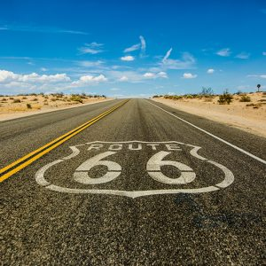 Route 66 etienne kopp USA road picture